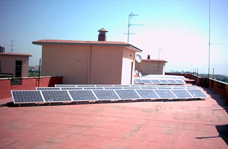 Condominio Poggio Delle Rose a Casavatore (NA)  12,5 kWp
